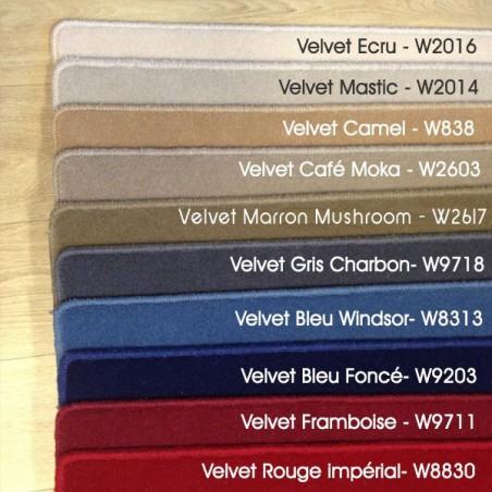 Echantillons du tapis sur mesure en laine VELVET