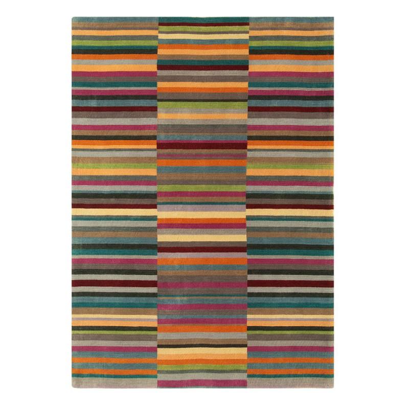 Tapis de salon Lines multicolore par Joseph Lebon