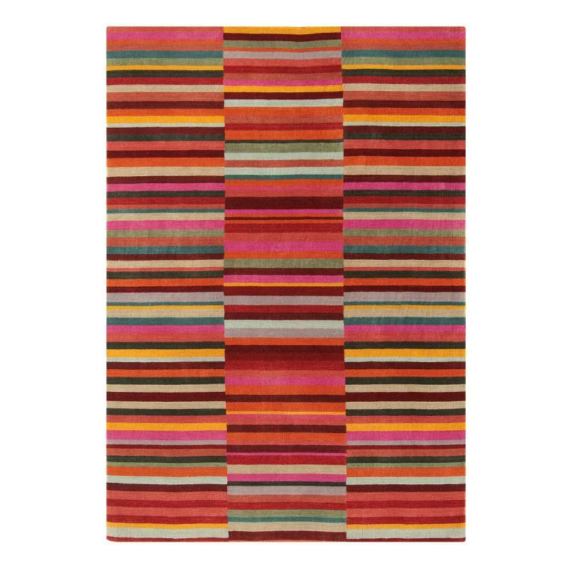 Tapis de salon Lines Red par Joseph Lebon