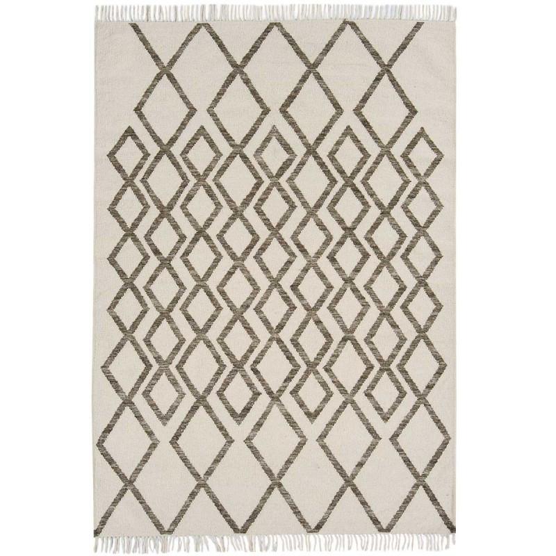 Tapis de salon Géométrique Skagen Diamond Taupe par Joseph Lebon