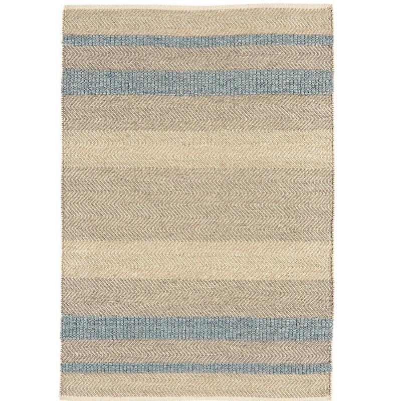 Tapis de salon à rayures Stripes Bleu Ciel par Joseph Lebon