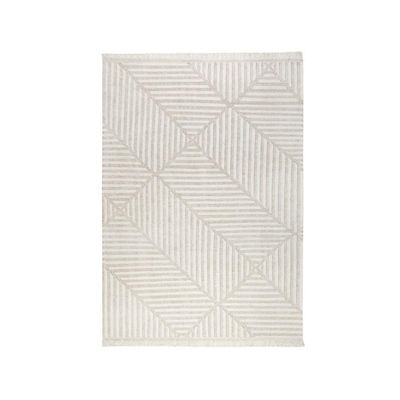 Tapis de salon moderne Fields Beige par Carpets & Co