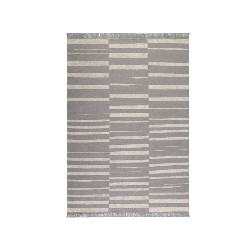 Tapis de salon moderne Skid Gris par Carpets & Co
