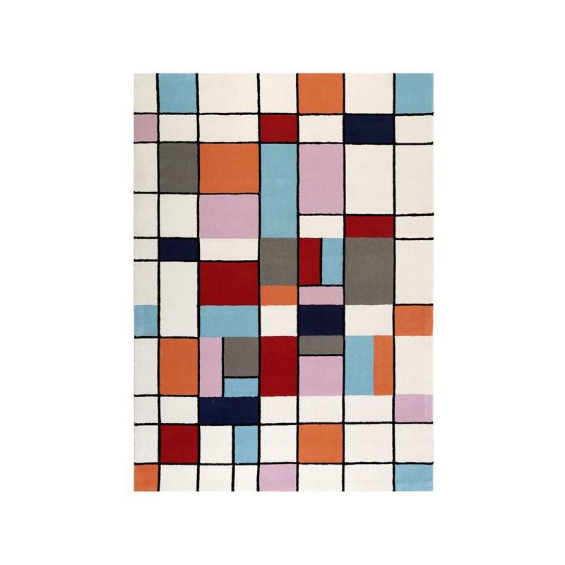 Tapis moderne Buttons multicolores par Esprit Home