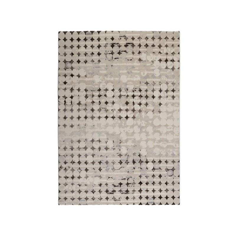 Tapis de salon design Spots Taupe par Esprit Home