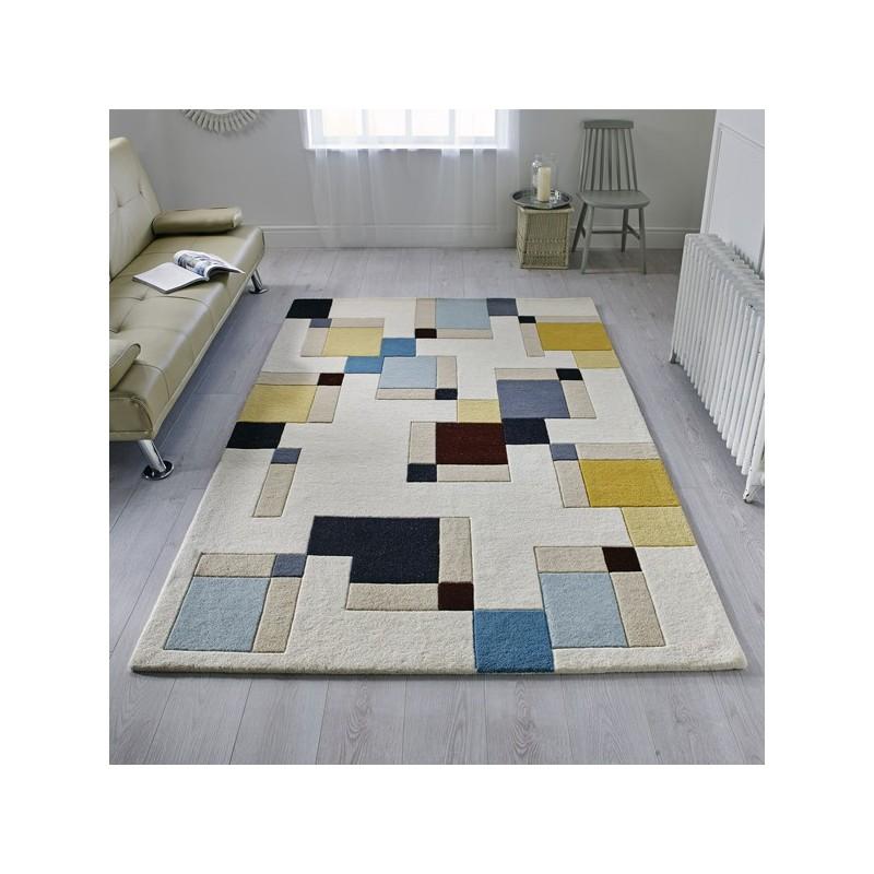 Tapis design en laine Abstract par Flair Rugs