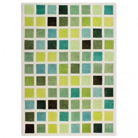 Tapis contemporain vert Campari par Flair Rugs