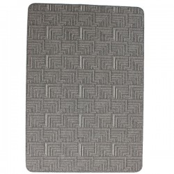 Tapis Design Lavable En Machine Pinnacle Gris Charbon