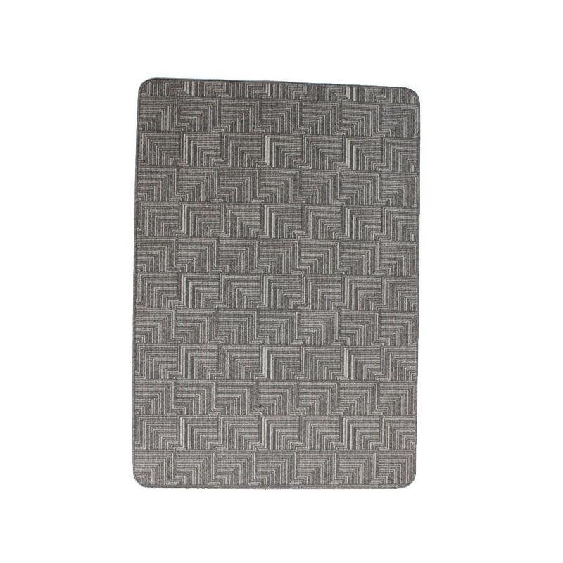 Tapis design lavable en machine Pinnacle Gris Charbon par Flair Rugs