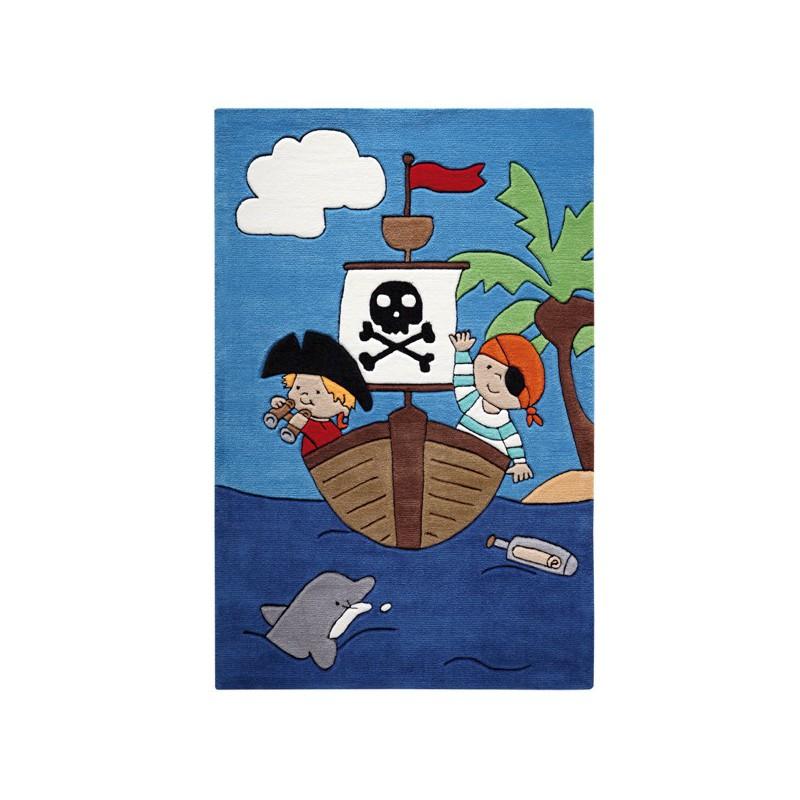 Tapis enfant Pirate Kids par Tapis Chic Collection