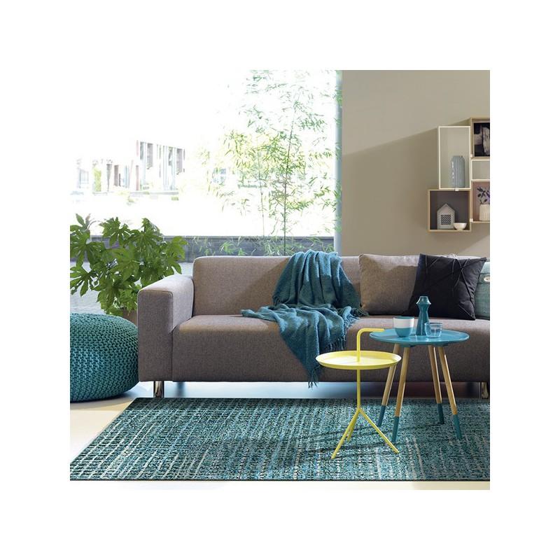 Tapis de luxe Resonance Multicolore Bleu par Arte Espina