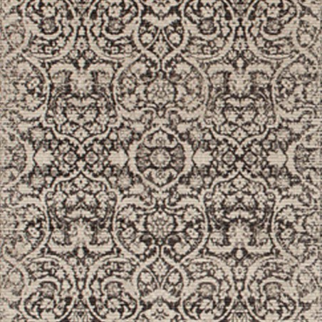 Tapis de salon Patina vintage marron par Tapis Chic collection
