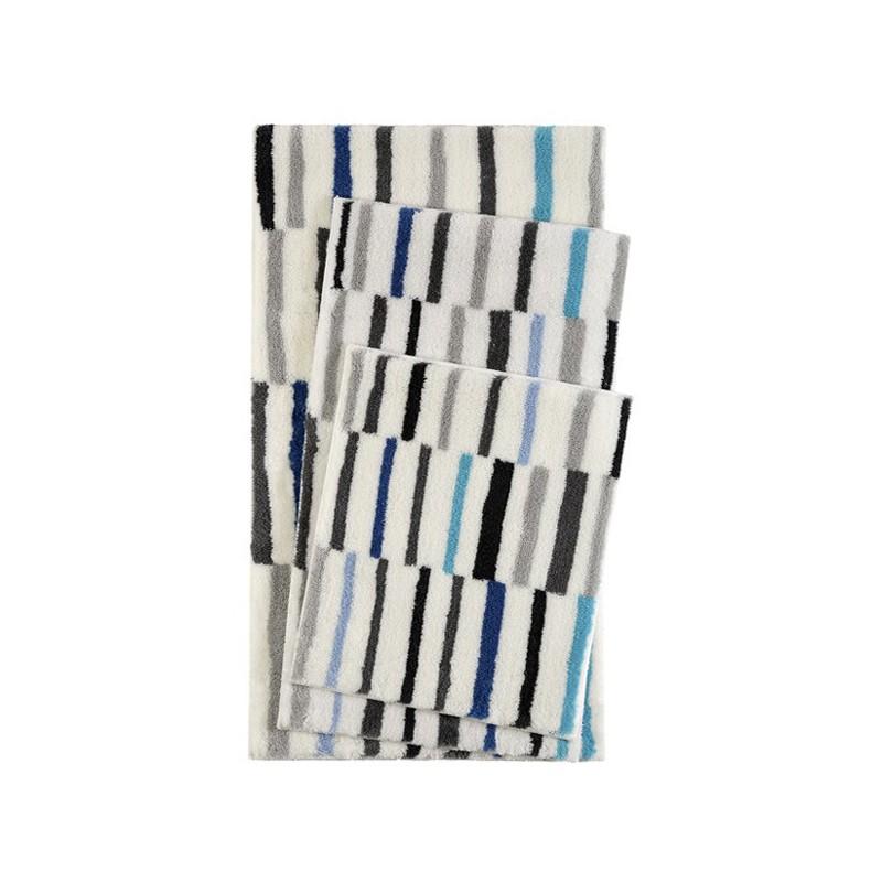 tapis de salle de bain design riverside turquoise par. Black Bedroom Furniture Sets. Home Design Ideas