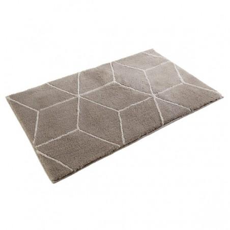 tapis de salle de bain design polygone beige par esprit home. Black Bedroom Furniture Sets. Home Design Ideas