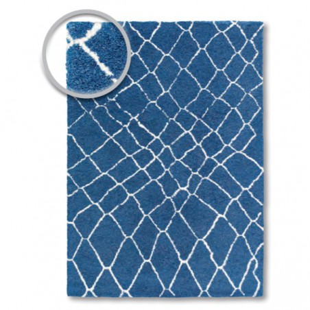 Tapis design Dream Bleu par Tapis Chic Collection