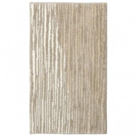Tapis de salle de bain mauritius lignes cr me par tapis - Tapis de salle de bain grande dimension ...