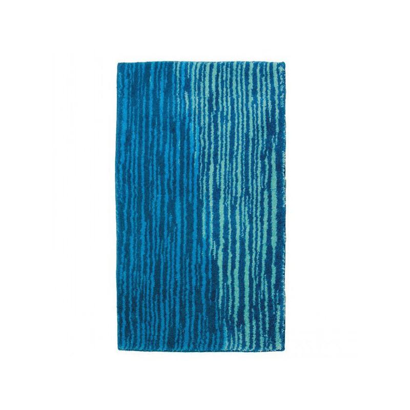 Tapis de salle de bain Mauritius Lignes Bleu par Tapis Chic Collection
