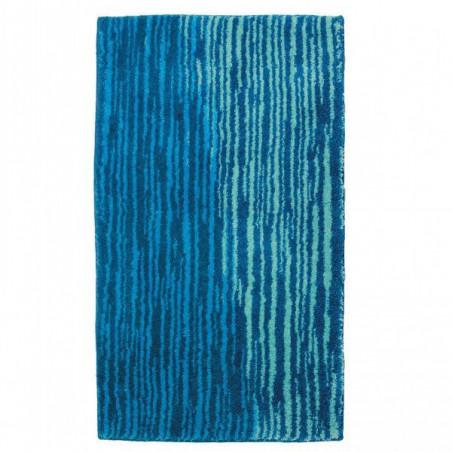Tapis de salle de bain mauritius lignes bleu par tapis - Tapis de salle de bain grande dimension ...