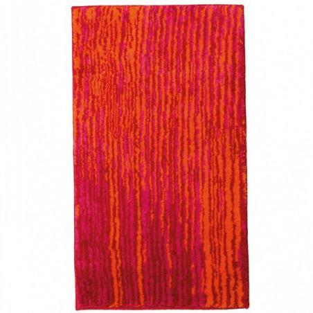 Tapis de salle de bain Mauritius Lignes Rouge par Tapis Chic Collection