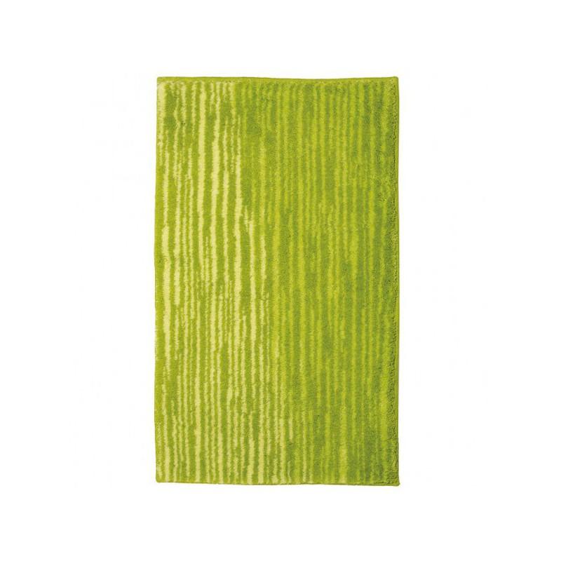 Tapis de salle de bain mauritius lignes vert par tapis - Tapis de salle de bain grande dimension ...