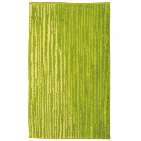 Tapis de salle de bain Mauritius Lignes Vert par Tapis Chic Collection