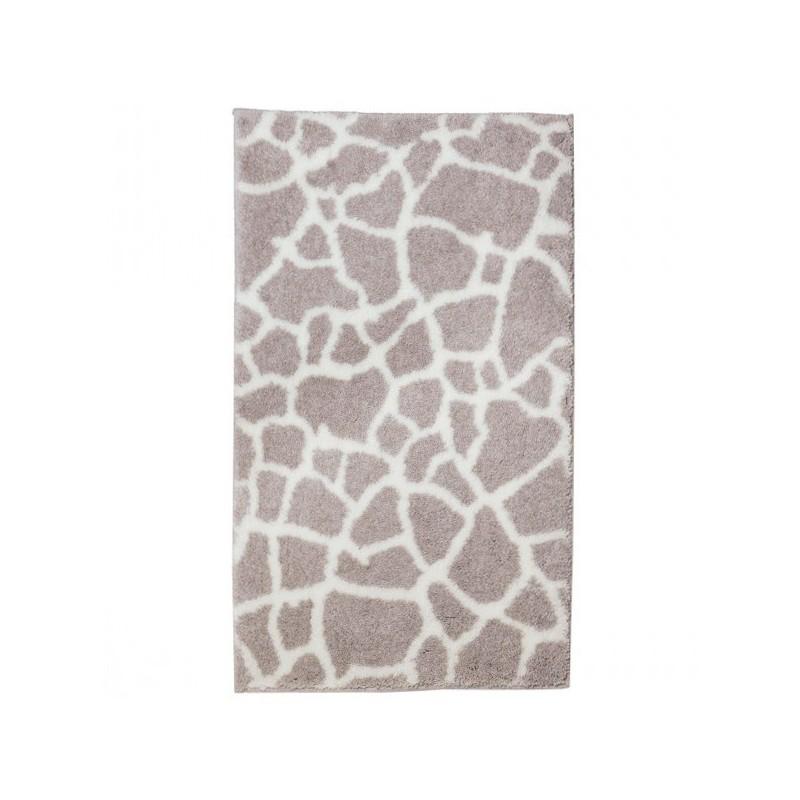 Tapis de salle de bain mauritius girafe cr me par tapis - Tapis de salle de bain grande dimension ...