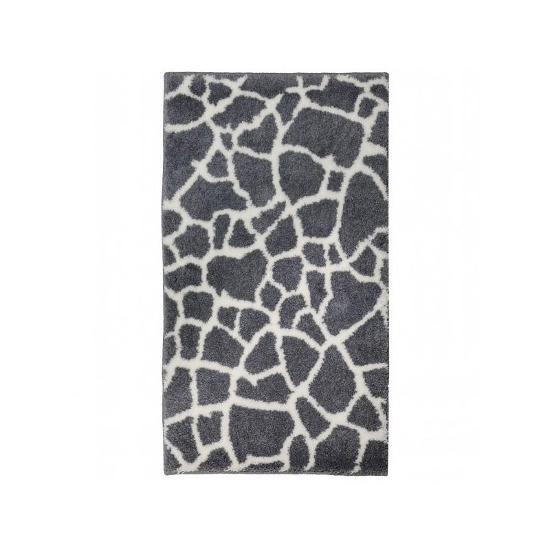 Tapis de salle de bain mauritius girafe noir par tapis - Tapis de salle de bain grande dimension ...