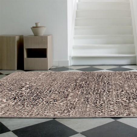 Tapis de salon Patina marron par Tapis Chic collection