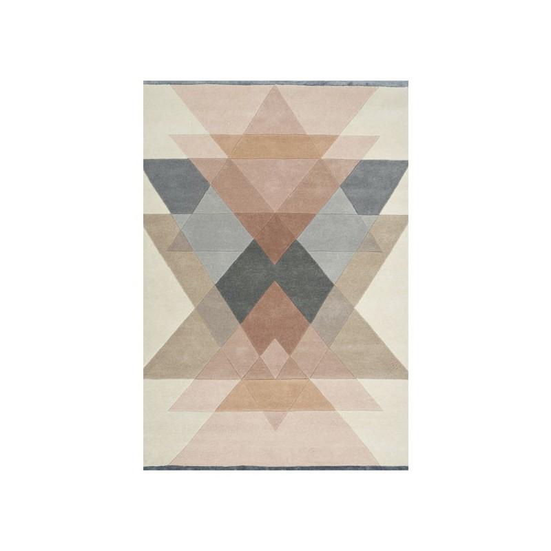 Tapis Design Freya Rose Poudré par Linie Design