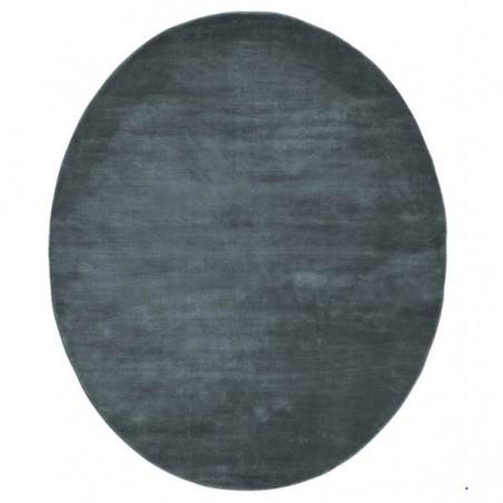 Tapis Design Mondo Bleu Nuit par Linie Design
