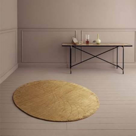 Tapis Design Mondo Moutarde par Linie Design