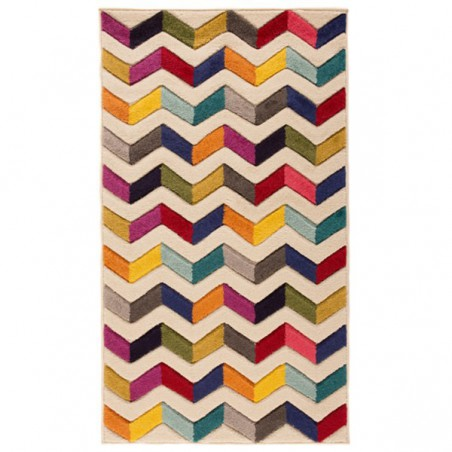 Tapis en laine multicolore Bolero par Flair Rugs