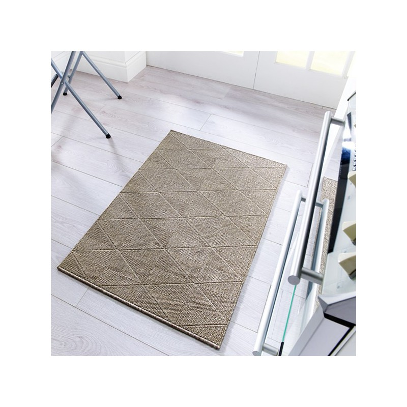 Tapis design lavable en machine Petronas Marron par Flair Rugs