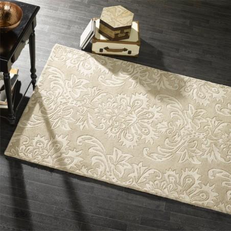 Tapis Design Ornate Beige par Flair Rugs