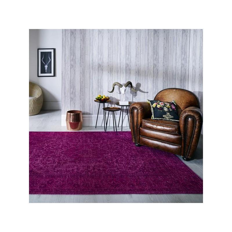 Tapis design vintage Palais Cerise par Luxmi