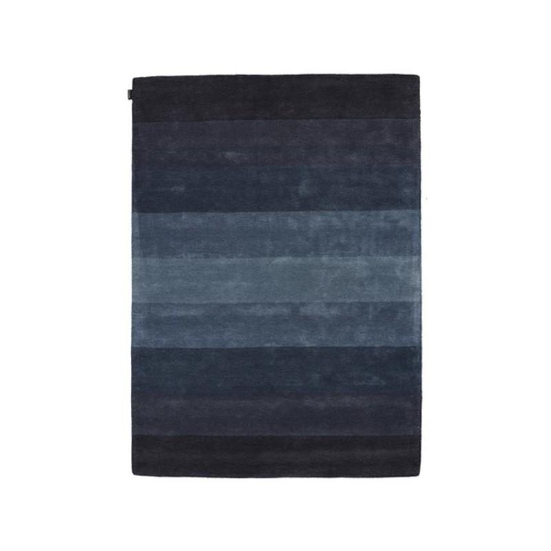 Tapis design en lanie Caesar Bleu par Angelo