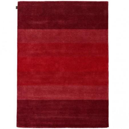 Tapis design en laine Caesar Rouge par Angelo