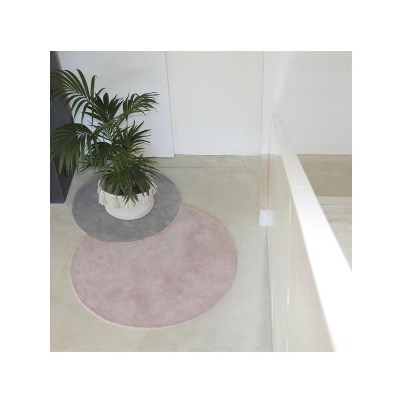 Tapis design en laine Pop Pop Rose Pastel par Lorena Canals