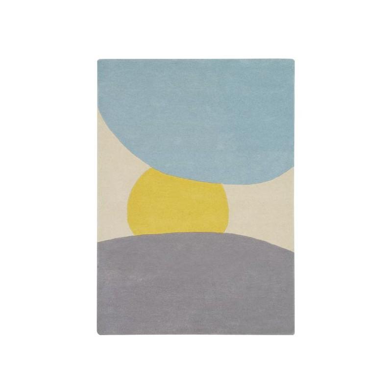 Tapis design en laine Sunrise  par Lorena Canals