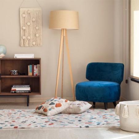 Tapis coton lavable en machine Terrazzo Marble par Lorena Canals