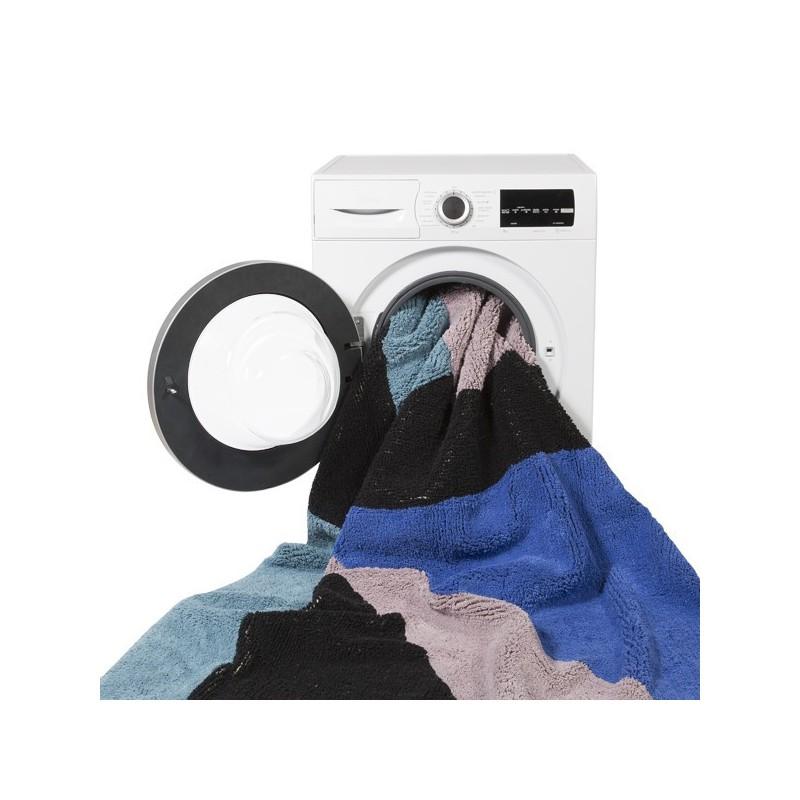 Tapis lavable en machine Geometrics Frame par Lorena Canals