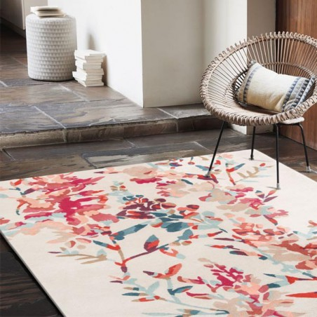 Tapis de chambre Hana Jewel multicolore collection Villa Nova par Louis De Poortere
