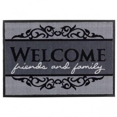 Tapis d'entrée lavable en machine Homelike Welcome par Tapis Chic collection