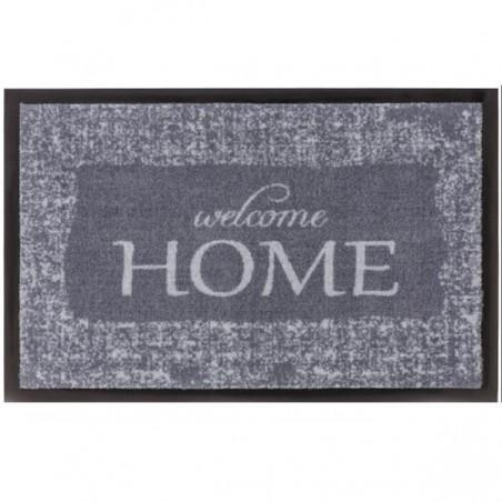 Tapis d'entrée lavable en machine Homelike Welcome gris par Tapis Chic collection