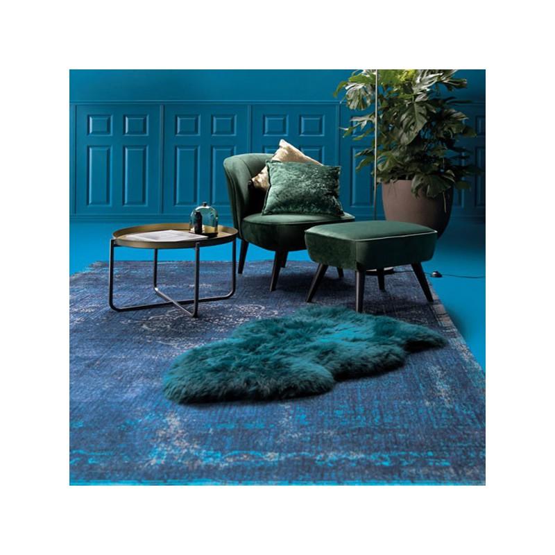 Tapis de salon moderne fading World Bleu par Louis de Poortere