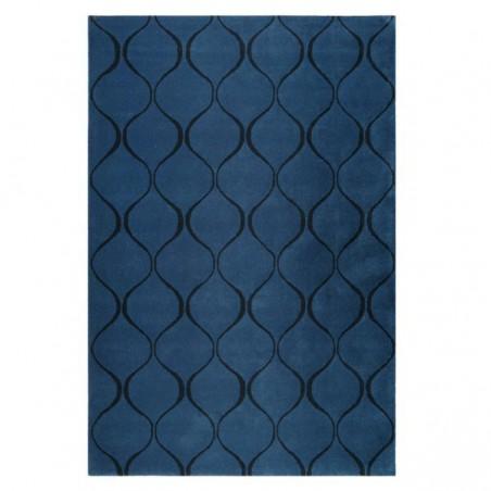 Tapis salon moderne Aramis bleu par Esprit Home