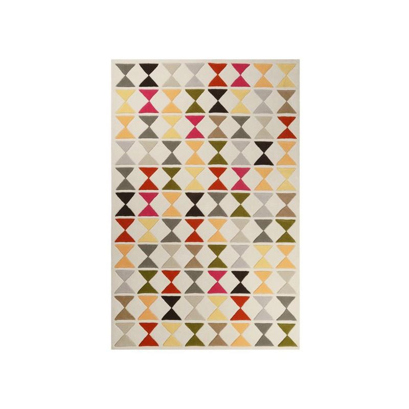 Tapis Design graphique multicolore Mahan par Esprit Home