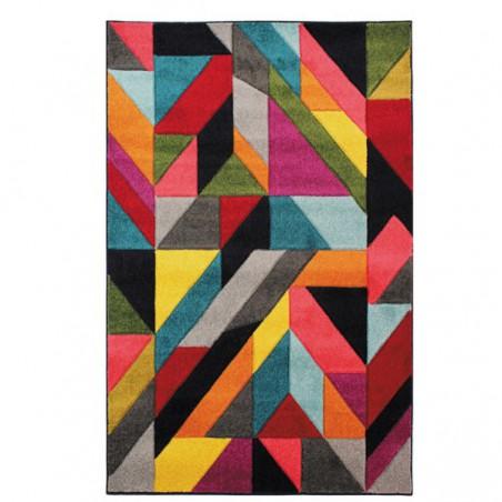 Tapis multicolore design Jigsaw par Flair Rugs