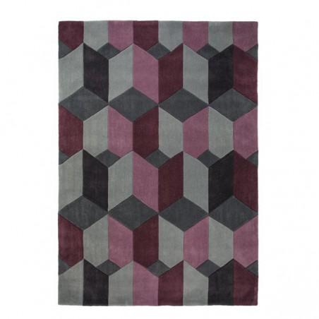 Tapis Design Scope Violet par Flair Rugs