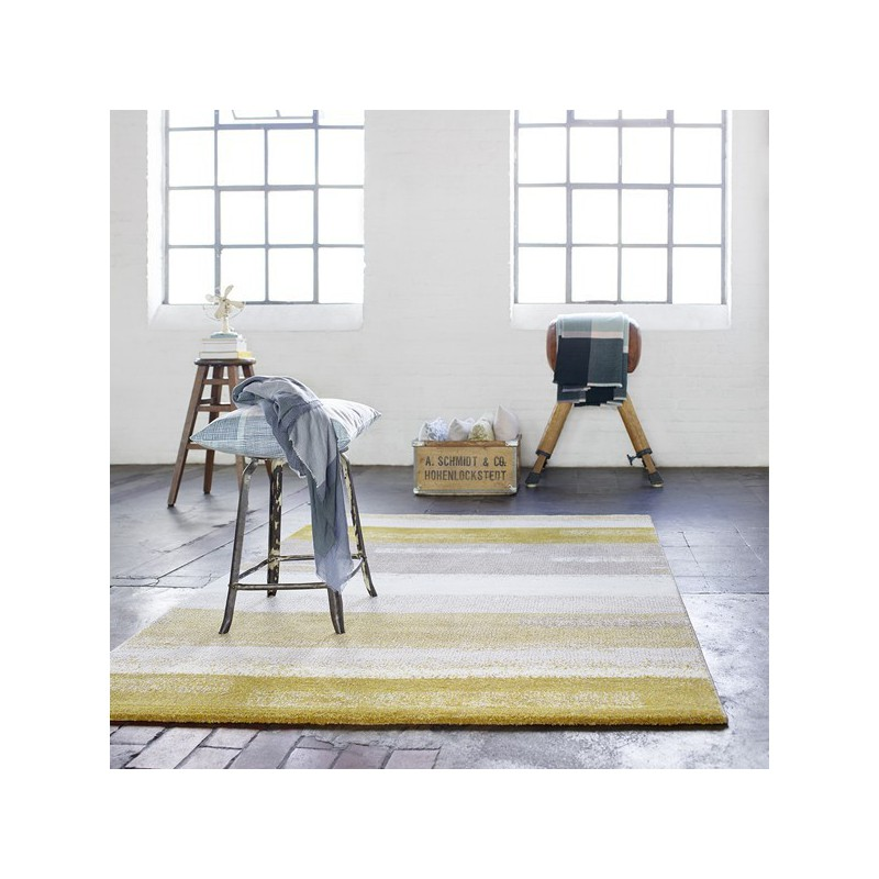Tapis design Dreaming Moutarde par Esprit Home